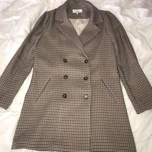 Jackets & Blazers - L'academie plaid overcoat